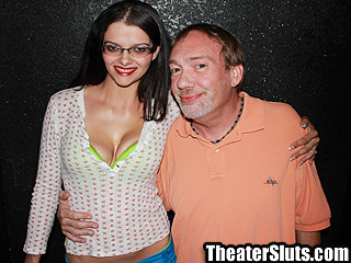 Theater Anal Slut Amber Leah Banged by Anonymous Perverts in Sleazy Porn Theater