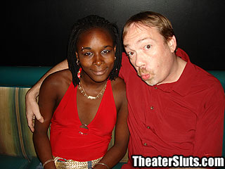 Theater Slut tasha Ebony Girl Living Out Her Porn Fantasy